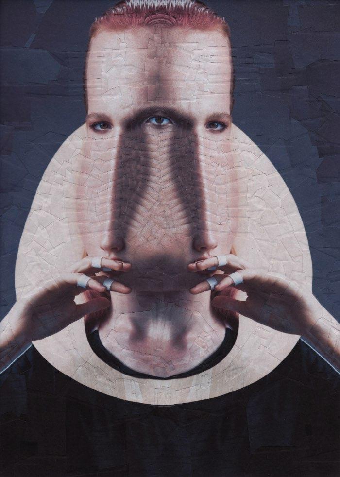 O que eu mais gosto no trabalho de colagens da Lola Dupre é o lado orgânico e manual que elas tem. Isso ocorre por que a artista usa e abusa das referências da estética Dadaísta do início do século 20 e trabalha exclusivamente com papel e tesouras. É por isso que as imagens que ela cria parecem tão diferentes desse mundo digital que vivemos hoje em dia.