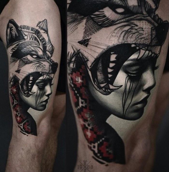 As tatuagens de Timur Lysenko parecem ter sido feitas para os amantes das artes negras e para os fãs da estética gótica. Se essa descrição encaixa bem no estilo de tatuagens que você tem, ou gostaria de ter, tenho certeza de que vocâ vai adorar as imagens aqui.