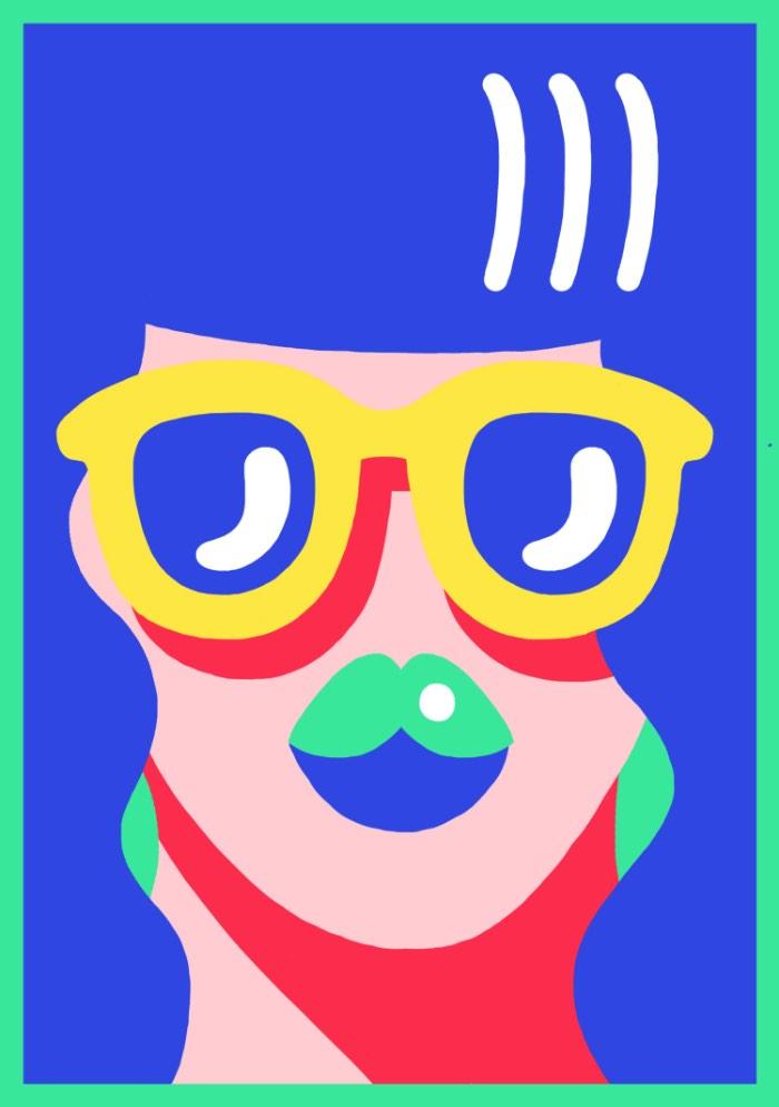 Marylou Faure mudou para Londres há três anos, isso ocorreu depois de ter passado seus anos de estudo em Paris, onde aprendeu sobre tipografia, design gráfico e ilustração na Penninghen. Há seis meses, ela abandonou seu estágio e resolveu focar no seu trabalho de ilustradora freelancer. E, pela qualidade do trabalho que ela tem no seu portfólio, fico pensando no que fez ela demorar tanto tempo para fazer isso.