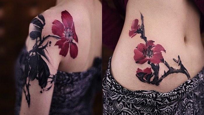O trabalho da chinesa Chen Jie é conhecido online como New Tattoo. É assim que ela escolheu chamar seu trabalho de tatuagens repleto de referências asiáticas que parecem ir direto em choque com técnicas ocidentais de tatuagem.