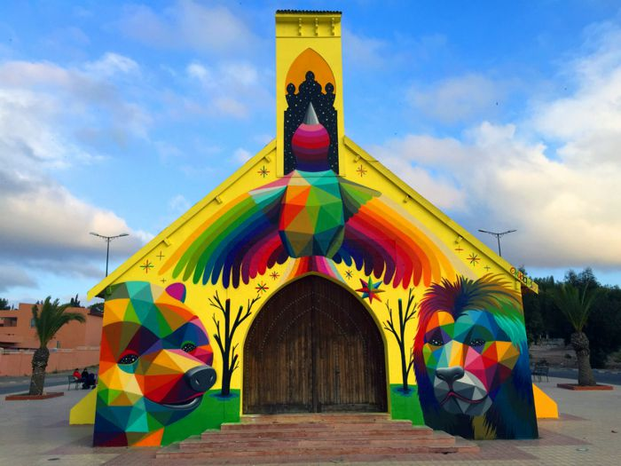 Transformando igrejas abandonadas em obras de arte