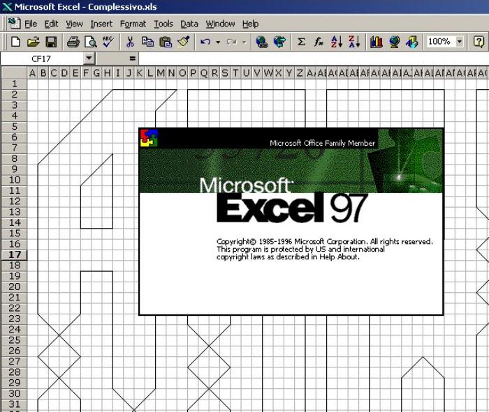 Federico Landini é o criador da Excellens uma fonte que, dizem por ai, é a primeira a ser criada totalmente no Microsoft EXCEL 97. Se você não acredita que isso seja possível, temos algumas imagens logo abaixo que vão provar que o trabalho do designer é exatamente aquilo que ele diz ser.