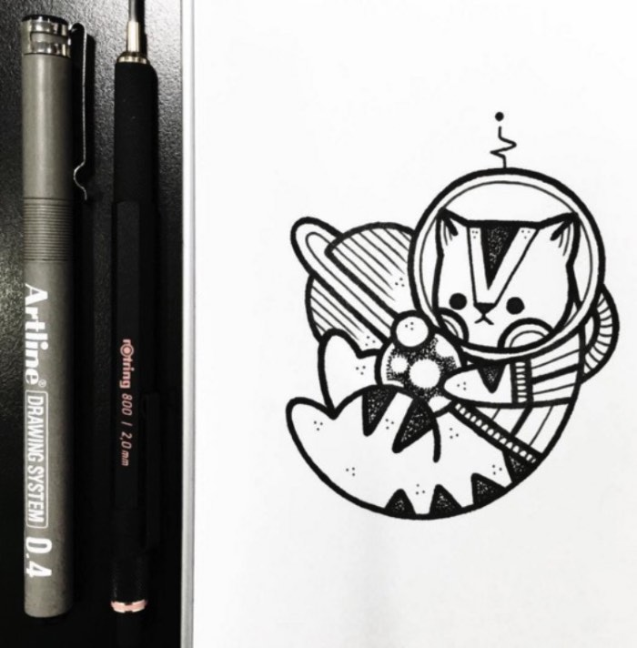 Hugo Tattooer é um tatuador e artista sul coreano que trabalho em um estúdio privado em Seul. Seu trabalho é marcado por desenhos originais que tem um visual bem característico e, também, muito fofo. Tão fofo que passei por todo seu instagram selecionando as fotos que você vai poder ver logo abaixo.