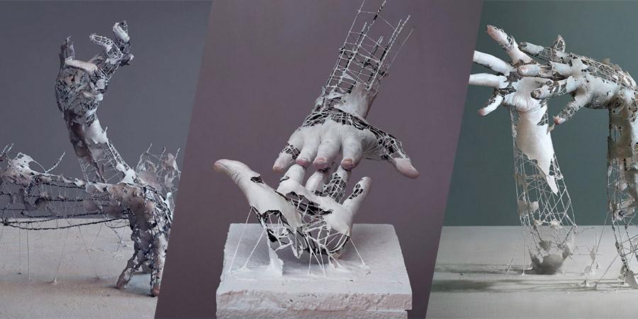 Os cenários criados pelo japonês Yuichi Ikehata misturam o digital e o físico, destruindo as fronteiras que separam a realidade da ficção. Na sua série Fragments of Long Term Memory, ele ainda explora um pouco da natureza fragmentada da memória e como ela poderia existir fisicamente e é um dos grandes destaques do seu portfolio. Portfolio esse que, durante vários momentos, me confundiu. E eu sem saber se suas imagens era digitais ou reais, acabei tendendo a renderização 3D e acabei errado.