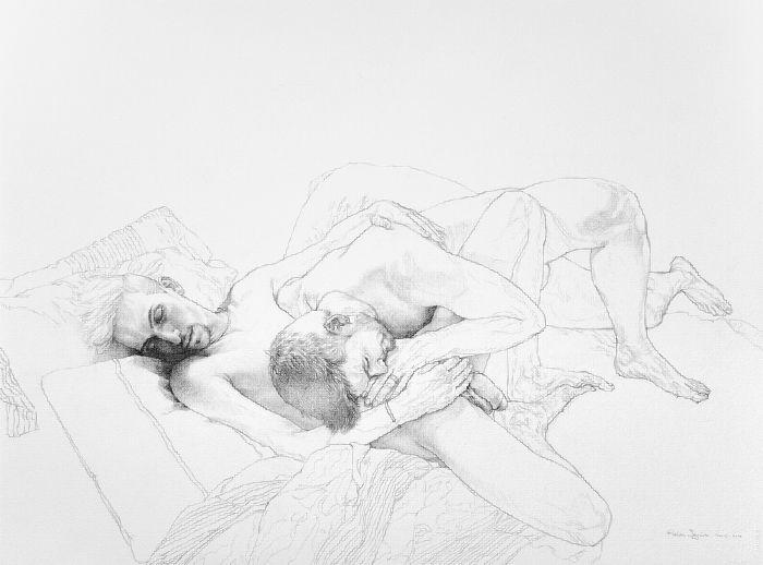 Dirty Dirty Love é uma exploração visual da identidade sexual de indivíduos e casais ilustrados por Reuben Negron. Nessa série, o artista tentou retratar pessoas reais em situações domésticas intímas onde os modelos revelassem a si mesmos de forma que pudessémos questionar nossa percepção do ato sexual.