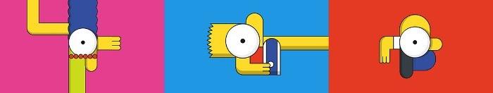 O pessoal da Laundry, uma produtora de video lá de Los Angeles, é apaixonado com tudo relacionado aos Simpsons. Então vocês imaginam a felicidade deles quando receberam o briefing de que eles seriam os responsáveis pelas vinhetas do desenho animado para o Canal FXX. O conceito pedia um visual minimalista, um gráfico abstrato e um pouco de bizarrice.