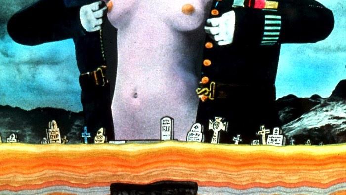 Quando Terry Gilliam trabalhava com as animações de Monty Python, ele acabou criando alguns dos momentos mais memoráveis do show. Pelo menos, para mim. Lembro de ver camarões que se alimentam de senhores, um gato gigante que ameaça Londres e aquele enorme pé que faz parte da vinheta de abertura.