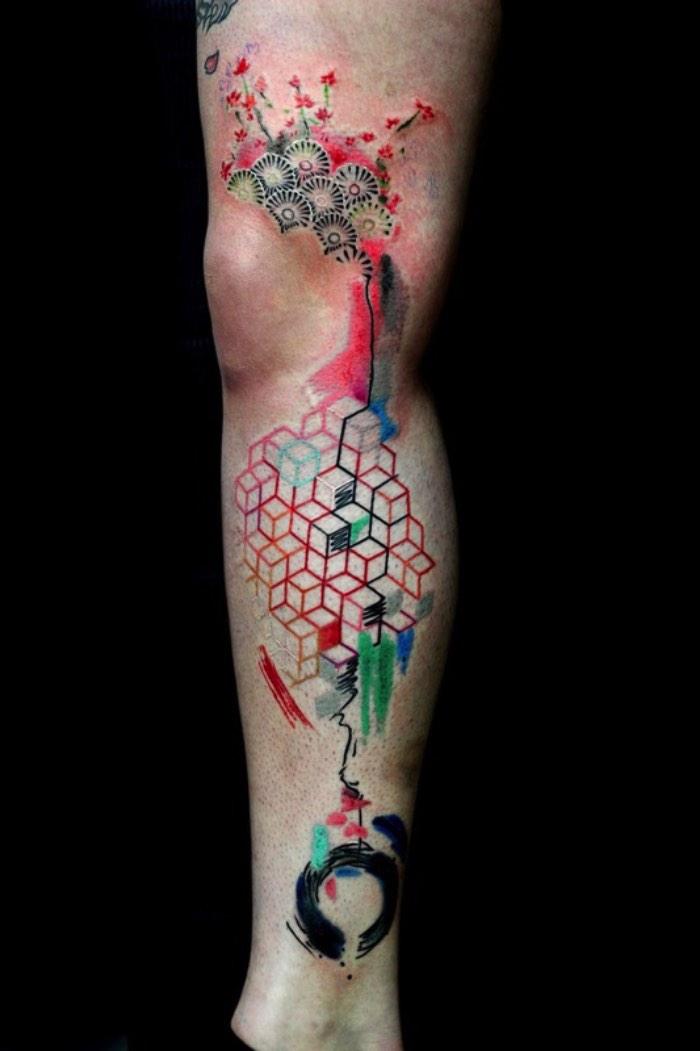 Fiquei bem feliz quando me deparei com as tatuagens de Bartt Tattoo direto no instagram. Digo isso por que esse artista de Londres trabalha com um estilo de tatuagem bem interessante, cheio de cores e que são lindas.