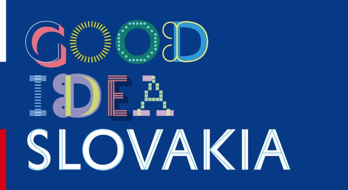 O Ministério de Relações Exteriores da Eslováquia acabou de lançar um novo slogan, logo e branding para o país. Chamado de Good idea, Slovakia! essa campanha foi criada pela Creative Department de Bratislava. O processo de criação e identificação internacional ocorreu através de sete anos de estudos e o resultado você pode ver no vídeo logo abaixo.
