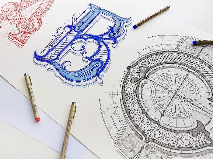 Mateusz Witczak é um designer polonês, especializado em tipografia e lettering. Me deparei com um de seus projetos experimentais no Behance e sabia que tinha que publicar alguma coisa dele por aqui. Acabei selecionando um projeto de lettering onde o designer estudou formas, técnicas e ideias diferentes voltadas para algo um pouco mais tradicional.
