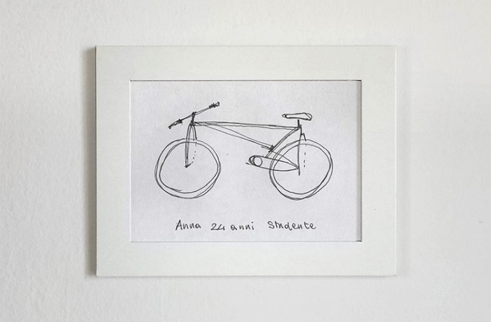 Foi em 2009 que Gianluca Gimini começou a pedir para seus amigos e colegas desenhassem bicicletas direto da memória e foi assim que surgiu o Velocipedia. A ideia é de demonstrar como que algumas vezes nós acreditamos que sabemos de algo mesmo não tendo nem ideia do que isso possa ser.