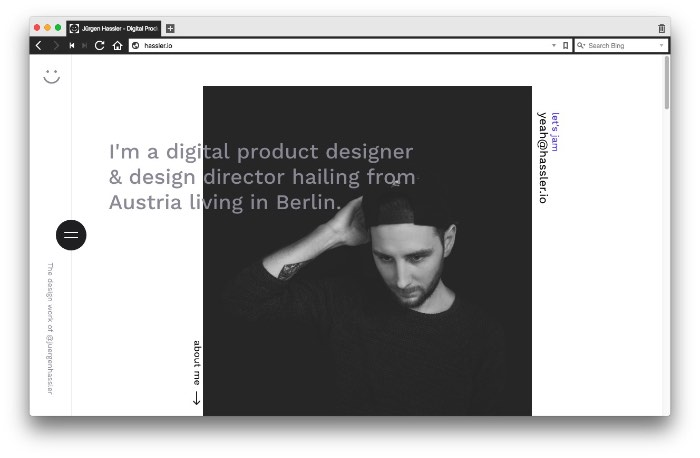 Tudo que Jürgen Hassler queria fazer era fazer capas de discos mas o iPhone surgiu e sua vida mudou. Foi assim que ele acabou indo trabalhar com design e, pelo portfólio dele, você pode perceber que ele anda indo muito bem na sua carreira.