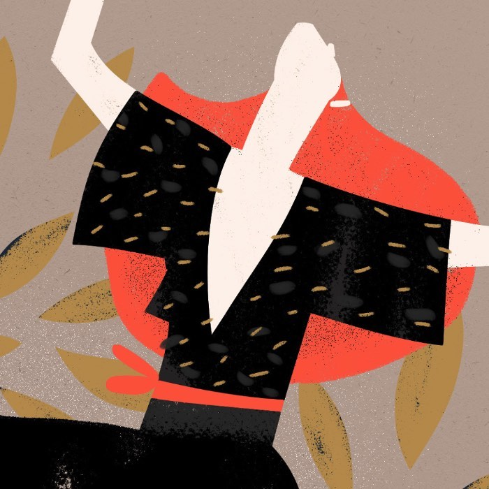 Sara Ciprandi é uma ilustradora italiana, baseada em Milão, com um ótimo portfólio de ilustração digital e editorial, especializado em artigos para blogs e revistas. Além disso, sua ilustração aparece também em posters e livros, como você pode ver melhor no seu perfil do Behance.