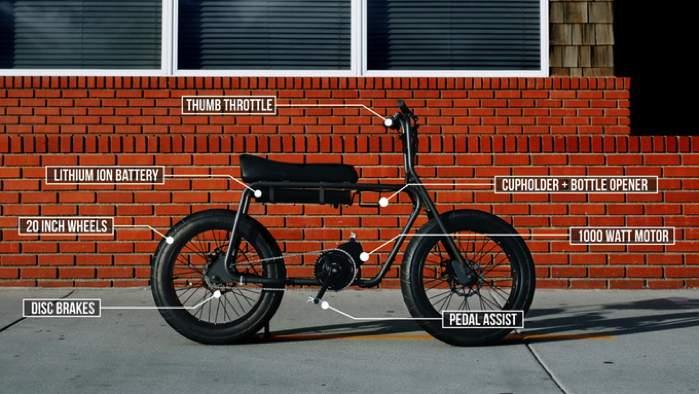 Não sei se é o visual que mais me chamou a atenção na bicicleta elétrica criada pela Lithium Cycles ou se foi a velocidade e duração da bateria deles. Mas, sei que algo bateu mais forte dentro de mim depois que vi o vídeo de apresentação que eles colocaram no kickstarter para a nova e-bike Super 73.
