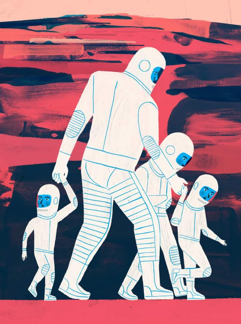 Keith Negley é um ilustrador com um trabalho editorial bem reconhecido nos Estados Unidos. Suas ilustrações já apareceram em livros infantis, grandes jornais e revistas ao redor do país pelos últimos 15 anos. E ele não parou ai. Seu trabalho já apareceu na capa de vários livros e revistas, além de capas de discos, posters, skates e até relógios. Além disso, ele é um contribuidor frequente do New Your Times e do New Yorker.