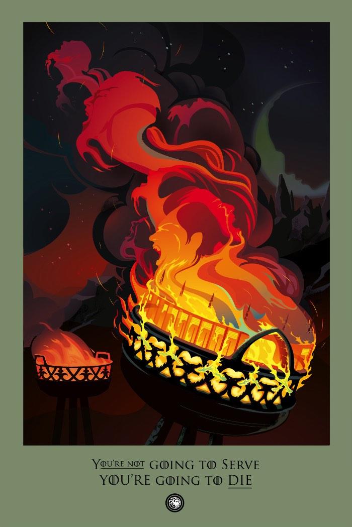 Beautiful Death é o nome de um site mantido pela HBO e ilustrado pelo Robert Ball com todas as mortes de Game of Thrones. Como são muitas as mortes que acontecem na melhor novela de dragão que a televisão mundial já viu, as ilustrações que você vai ver logo abaixo são mais do que isso. Elas são interpretações visuais, repletas de simbolismo e cobertas de detalhes e significado.
