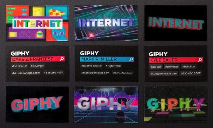 O estúdio de design Dark Igloo é muito mais do que um nome estranho. Eles sabem muito bem como trabalhar com design e foi exatamente isso que eles fizeram com a identidade visual do Giphy, um dos líderes online quando se trata de gifs.