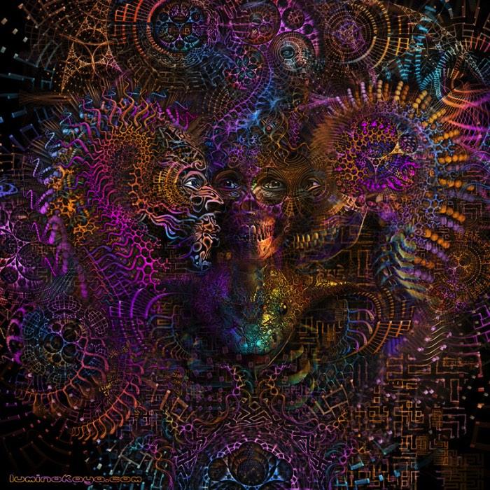 Luminokaya Lab é como o russo conhecido como Keerych Luminokaya assina seu trabalho de arte digital que mistura muita renderização tridimensional com fractais e acabam criando que captura a atenção do nosso olhar. Apesar de que o termo capturar não é o mais certo quando se trata das imagens que você pode ver nesse artigo. Aqui, as imagens são tão complexas que acabam fazendo com que se perca nos milhares de detalhes que elas tem e tem um valor estético quase lisérgico.