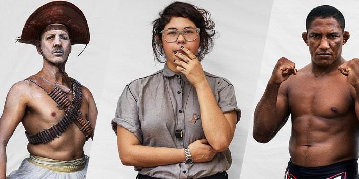 Somo Brasil é uma exposição multimídia e um livro criado pelo fotógrafo britânico Marcus Lyon. Nesse projeto ele explora a diversidade visual da identidade brasileira no século em que vivemos. Tudo isso através de retratos em alta resolução e um aplicativo que mostra um pouco do DNA da pessoa e o som ambiente enquanto a fotografia estava sendo feita.