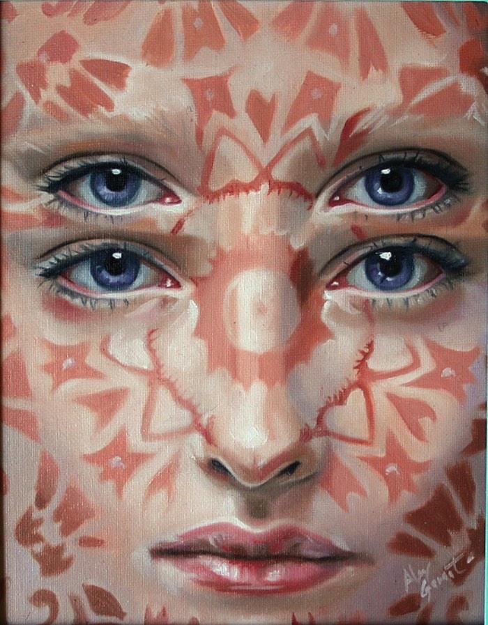 Alex Garant é conhecido internacionalmente pelos suas imagens repletas de olhos duplicados e fortes cores que parecem criar cenas que são mais próximas de sonhos do que realidade. Visitar seu portfólio apenas confirma tudo que você pode imaginar sobre as imagens que ela cria e foi por isso mesmo que ela acabou e tornando a Rainha dos Olhos Duplos. Um título mais que merecido depois que você der uma olhada nas imagens que selecionei logo abaixo.