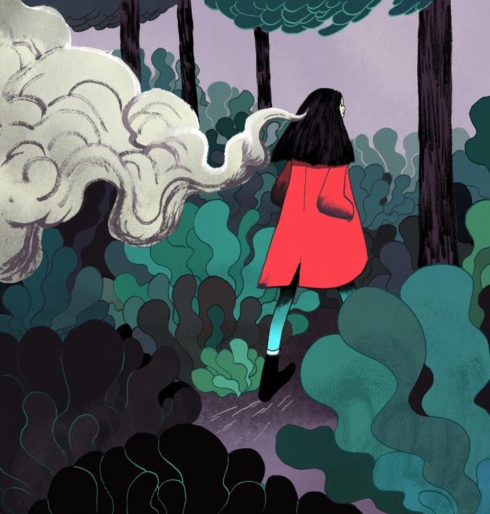 Kimberly Salt é uma ilustradora americana baseada em Nova Iorque cujo trabalho é voltado para ilustrações editoriais mas que tem uma boa experiência trabalhando como designer. Seus trabalhos tentam celebrar a magia do mundano e os ritmos únicos das coisas vivas. O que você pode ver muito bem nas ilustrações que selecionei do seu portfolio.
