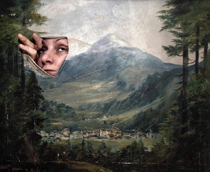 As imagens que vejo no portfólio da artista austríaca Marlies Plank me lembram devaneios oníricos de um sonho que eu não consigo lembrar direito. Sabe quando você acorda e consegue lembrar apenas de passagens, fragmentos, imagens e cenas de um sonho que você acabou de ter. Algumas vezes você acaba lembrando de trechos e o resto é criado pela nossa mente. É isso que eu lembrei enquanto passava meus olhos pelas imagens e fotografias que ela criou.