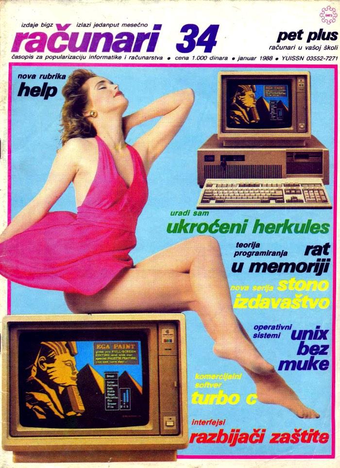 Racunari- As Fotos de Revistas de Computadores da Antiga Iugoslavia_Ra?unari é o nome de uma revista de computadores que existiu na antiga Iugoslávia de 1984 até meados dos anos noventa. A revista sobreviveu aos anos turbulentos e as guerras civis que destruíram o país na época e conseguiu o mérito de durar mais do que a própria Iugoslávia!