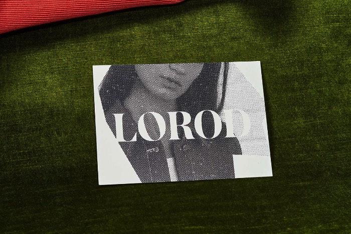 Como Natasha Jen criou a identidade visual da Lorod - Lorod é uma marca onde o clássico encontra com o contemporâneo. Uma marca de moda criada pela dupla Lauren Rodriguez e Michael Freels que quer redefinir a forma com a qual nos vestimos através de construções modulares, tecidos distintos e um forma chique de se vestir inspirada pelo passado.