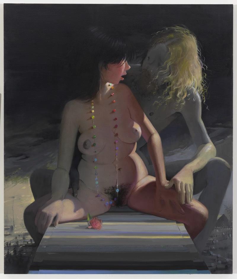 O que eu mais gosto nas pinturas de Lisa Yuskavage é como ela apresenta o corpo feminino como uma forma de contestação. Uma forma de desafiar quem está a observar suas pinturas. Mas, ao mesmo tempo, a artista apresenta os corpos femininos com uma certa decadência que eu gostei muito de ver também.