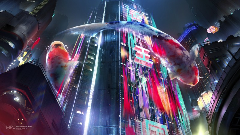 Jan Urschel teve um privilégio fora do comum e conseguiu visitar as filmagens do remake de Ghost in the Shell. Tudo culpa da Paramount Pictures que permitiu que esses artista e ilustrador, baseado em Singapura, tivesse acesso as filmagens e aos departamentos de arte dessa produção no estúdios da Weta. Inspirado pelo que ele viu e pelas suas viagens por Tóquio e Hong Kong, ele decidiu desenhar aquilo que viu com seus toques visuais peculiares.
