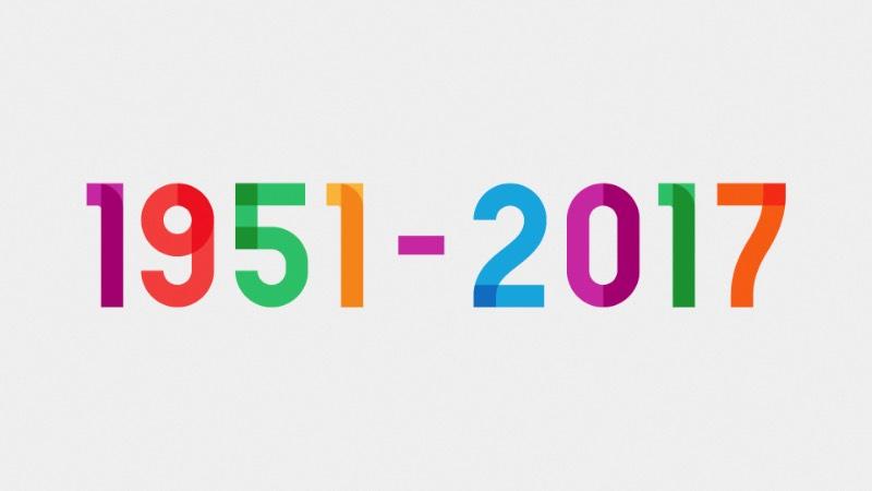 Para celebrar os 66 anos de vida do artista e ativista LGBT Gilbert Baker, o pessoal da NYC Pride e NewFest se juntaram a equipe de design da Ogilvy & Mather's e a Fontself para criar uma fonte que acabou recebendo o nome de Gilbert. O artista é mais conhecido por ter sido o responsável pela criação da bandeira arco íris em 1978, ícone bastante utilizado no movimento LGBT.
