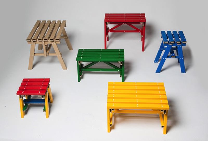 O estúdio de design sul-coreano PESI criou uma mesa de papelão que mais parece feita de madeira. Essa mesa recebeu o nome de Lumber Table e ela foi criada para desenvolver os potenciais não explorados do papelão como parte dos móveis das casas das pessoas.