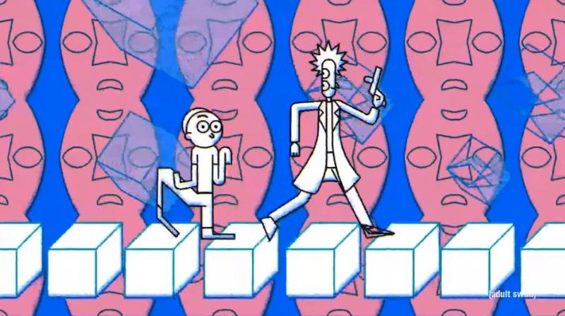 Há algumas semanas, o canal de televisão Adult Swim publicou o mais novo trailer para a série Rick and Morty. Chamado de Exquisite Corpse, esse vídeo é um belíssimo coquetel de animadores em estilos diferentes, usando de técnicas diversas para criar um produto final mais do que lisérgico.