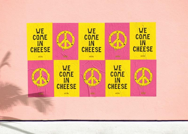 Algumas vezes eu me deparo com trabalhos bem interessantes feitos para pequenos clientes. Foi isso o pessoal do We are Büro Büro criou para o Frau Dr. Schneider's Grilled Cheese Wonderland, um food truck que faz um dos mais bonitos queijos grelhados que eu já vi na vida. A identidade visual que foi desenvolvida é bem criativa e me lembrou alguns desenhos que era feitos para marcas de skate quando eu estava crescendo. Ou seja, não tem como não achar fenomenal.