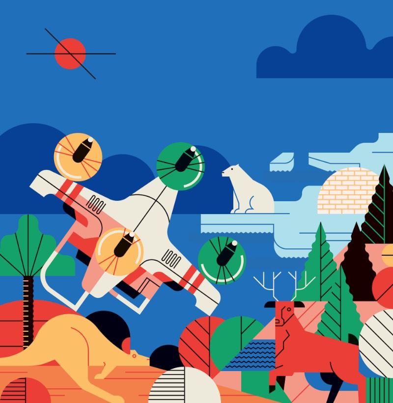 Aleksandar Savic é um ilustrador e designer lá de Belgrado, capital da Sérvia. Seu trabalho começou com uma mistura de design gráfico e ilustração e acabou migrando para incluir um mundo de infográficos. Foi isso que inicialmente me chamou a atenção em seu portfólio e fez com que eu investigasse mais do que ele anda publicando seu seu perfil no Behance.