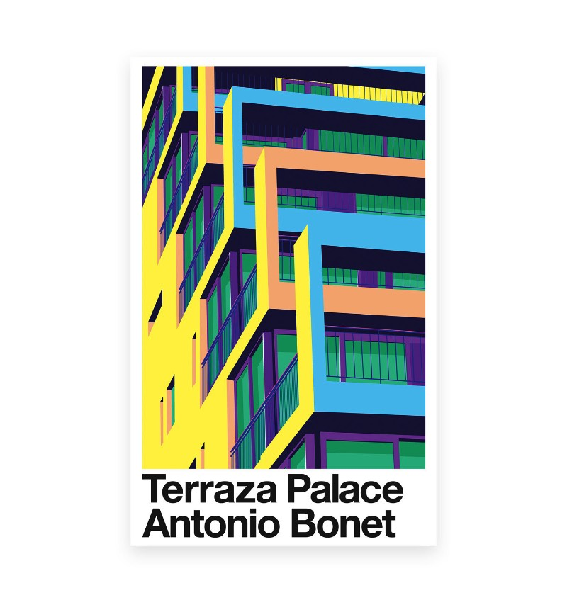 Antonio Bonet foi um dos mais famosos arquitetos da Catalunha, região da Espanha. Autor de um vasto portfólio de projetos, ele expandiu a arquitetura além da Espanha, em direção a América Latina, onde muitos dos seus trabalhos continuam desconhecidos do grande público. O pessoal do The 21 Night resolveu selecionar seis desses projetos do racionalismo arquitetônico catalão e modernizar seu legado através de coloridas ilustrações. Foi assim que surgiu esse diálogo entre a arquitetura e o design gráfico, entre o concreto e o papel. Um tributo ilustrado a tudo que Antonio Bonet criou. Esse projeto recebeu o nome de Bonet e acabou sendo selecionado para o Laus Award 2017 e foi premiado com o ouro na categoria de estudantes. As ilustrações foram feitas com a finalidade de reconhecer a importância de Antonio Bonet no século que passou e usar da tipografia, das ilustrações e das cores para criar um visual único e mais do que reconhecível. Além disso, Bonet ainda foi selecionado para a publicação basca Selected 17 na categoria de ilustrações. O livro vai ser publicado em Outubro de 2017 e quero ver como que ele vai ser. Para saber mais sobre o projeto e sobre o pessoal do The 21 Night, você só precisa clicar no link abaixo.