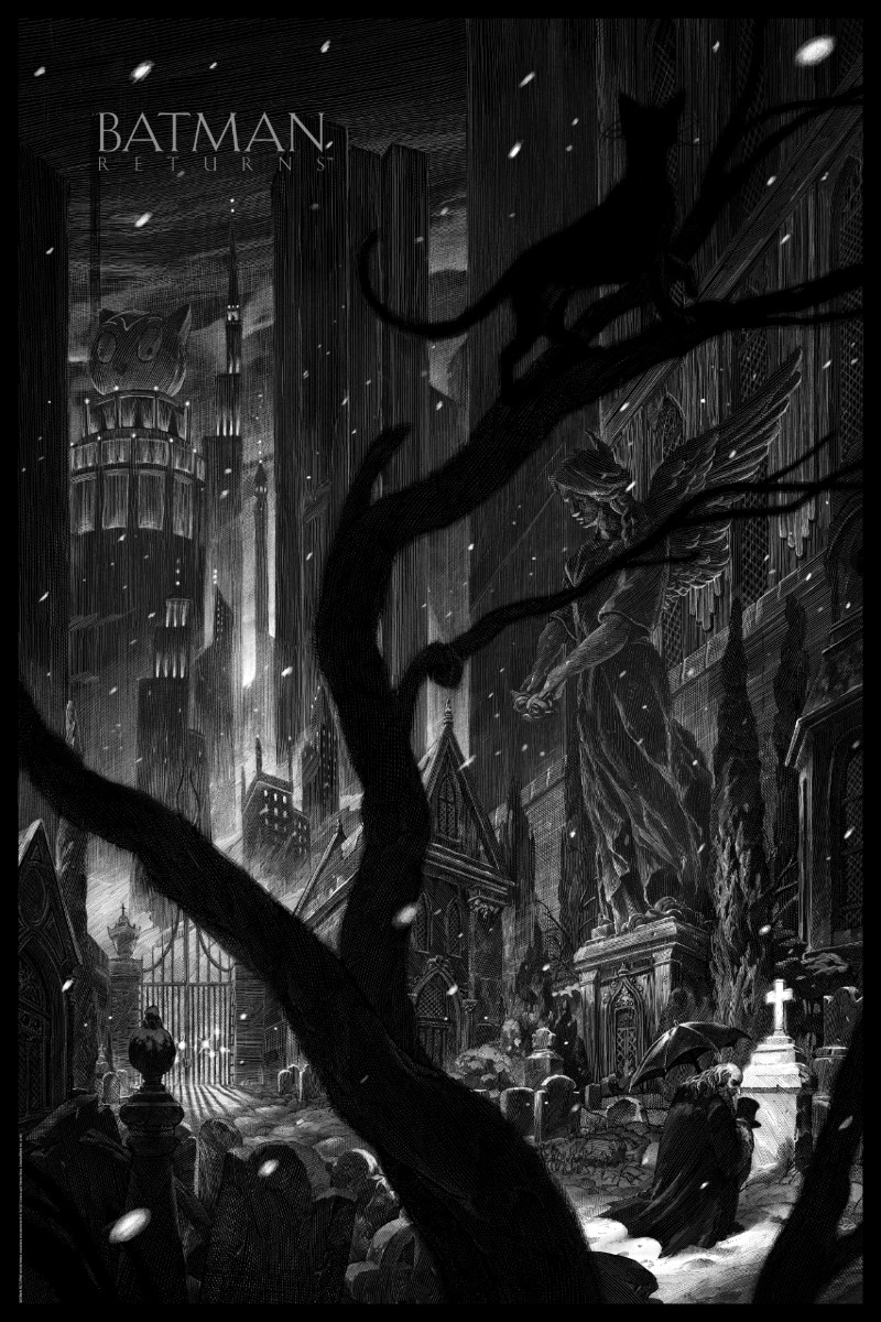Nico Delort é um artista e ilustrador trabalhando em Paris, na França. Seu trabalho é criado através do uso de um scratchboard, que é um uma espécie de papelão enegrecido que pode ser arranhada ou raspada para fazer desenhos em linha branca. Por isso que as imagens que você vai ver aqui tem um visual escuro, algo quase gótico. A culpa disso é do seu método de trabalho mas combina muito bem com o estilo de suas ilustrações e com os temas que ele utiliza na sua arte.
