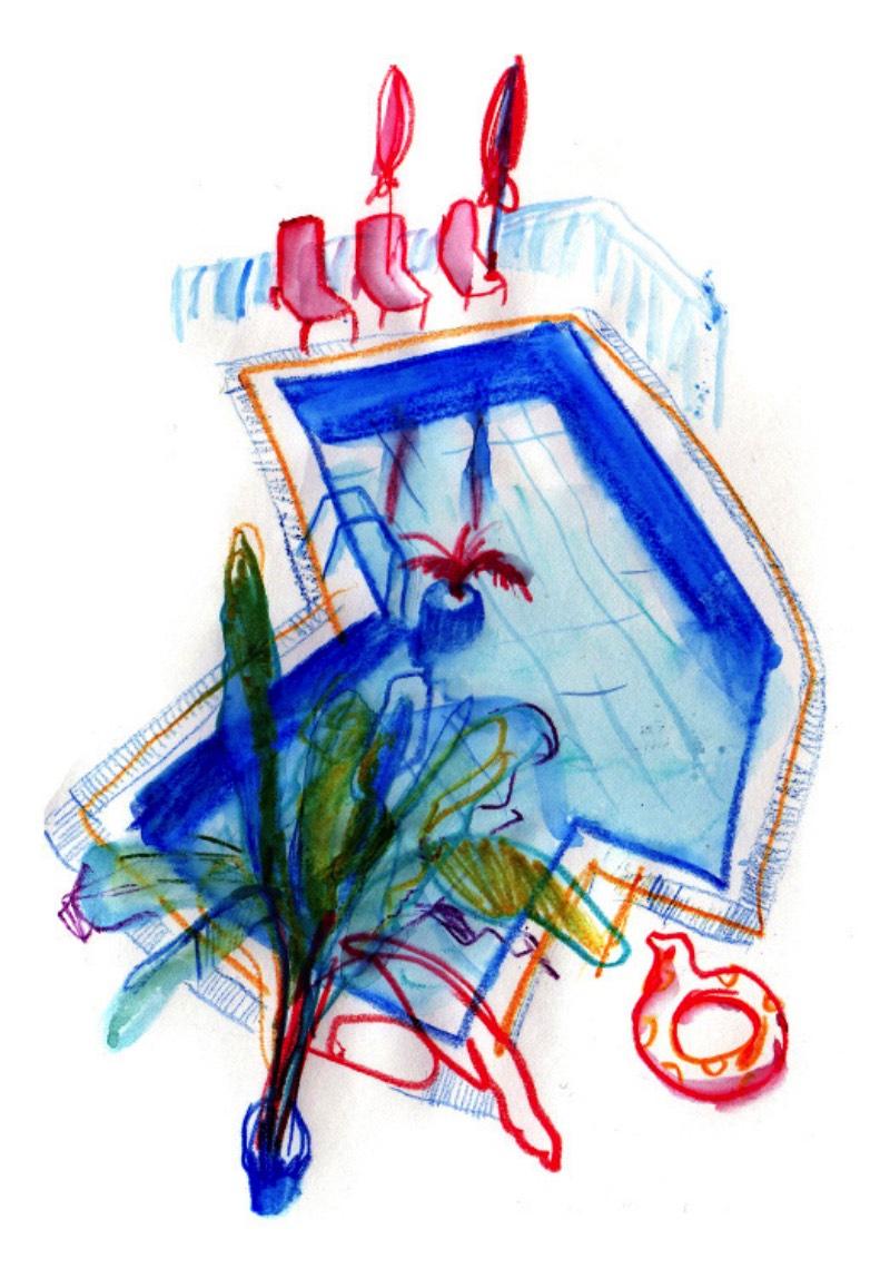 Ksenia Kopalova é uma ilustradora e professora de artes baseada na capital da Rússia, a grande cidade conhecida como Moscou. É de lá que ela trabalha como freelancer para marcas renomadas como Vkontakte, Sberbank, Rostelecom, SAP, Oracle, Leroy Merlin. Além de tudo isso, ela ainda trabalha como professora, dando aulas na British Higher School of Art and Design e na Bratec Lis School.