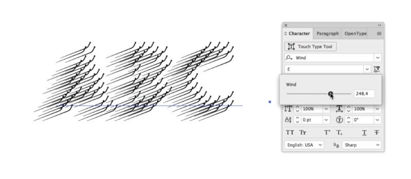 Wind é o nome dessa família tipográfica que é o primeiro projeto da designer de livros baseada em Amsterdam, Hansje van Halem. Como muito do seu trabalho anterior, Wind é bem experimental e usa de cores fortes e de detalhes intricados para criar padrões visuais inesperados que acabam por causar ilusões de ótica bem únicas. Como você tem a liberdade de combinar camadas e mais camadas de linhas com cores brilhantes, é bem fácil criar padrões quase hipnóticos que me lembram um pouco as criações de Akiyoshi Kitaoka.