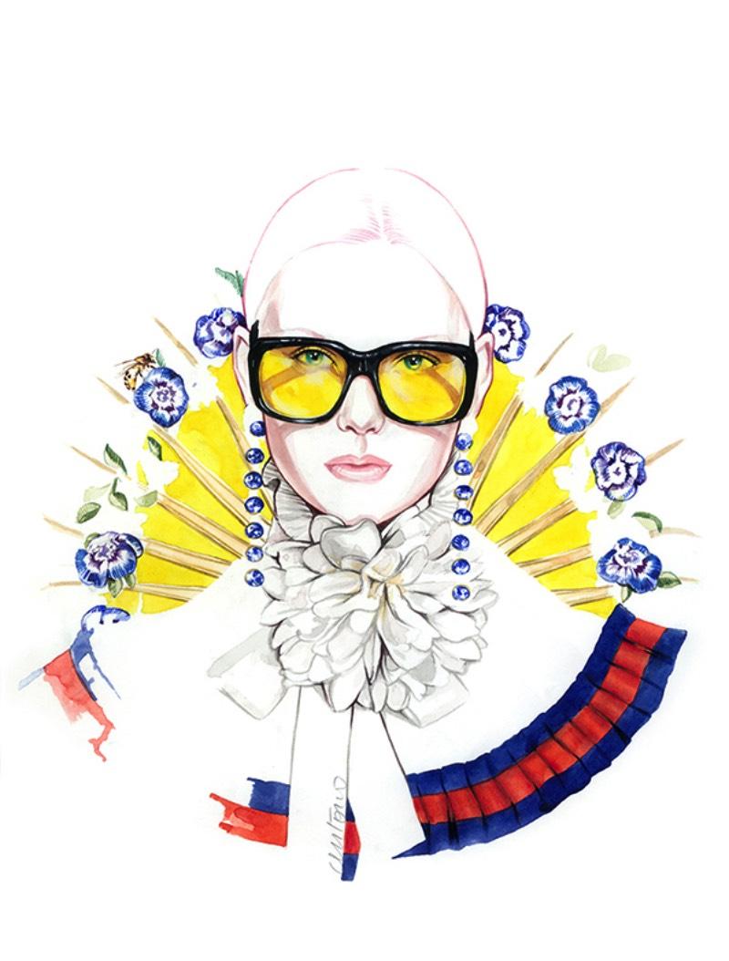 Um detalhe que me chamou muito a atenção nas ilustrações de Antonio Soares é como os nuances das expressões dos rostos que ele desenha acabam demonstrando um pouco das qualidades das roupas que esses desenhos mostram. Além disso, as ilustrações de moda que esse artista português faz parecem superar o mundo da moda e tem uma estética que me dão uma sensação de amor, de romance. Algo que acredito que é melhor demonstrado nos rostos e nas expressões que você pode ver nas imagens que selecionei aqui.