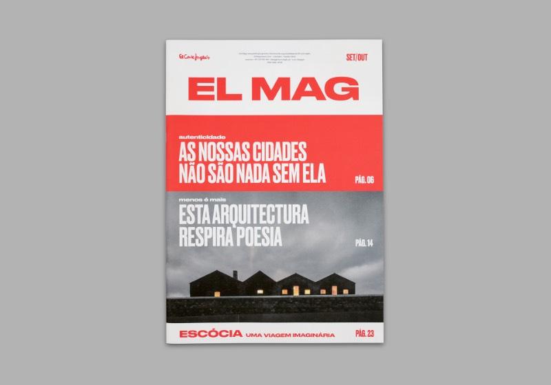 El Mag é uma revista bimestral que é feita em colaboração entre a El Corte Inglês Gaia/Porto, em particular com Pedro Barbosa, e Non–verbal Club. E essa revista acontece com a intenção de criar um programa cultural para a audiência de Porto, em Portugal.