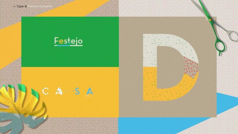 Para o lançamento de um novo programa de televisão, o pessoal da AMC convidou o Inland Studio para trabalhar. Foi assim que o Fiesta en Casa recebeu uma identidade visual cheia de recortes, cores, pinturas, pincéis, tesouras e plantas. Tudo inspirado na linguagem visual que o programa de tv acaba usando no seu dia a dia.