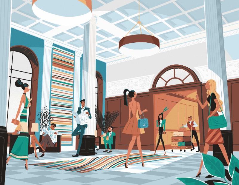 Steve Scott é mais do que um ilustrador, ele constrói mundos onde tudo pode acontecer. Seu trabalho é criativo e brilhante de um jeito tão interessante que eu só quero observar onde que ele pode me levar. Além disso, seu uso de cores é mais do que especial e acabam transformando tudo em algo ainda mais fabuloso. Afinal, para mim, uma ilustração fantástica é uma imagem que o convida a exploração e é isso que Steve Scott faz.