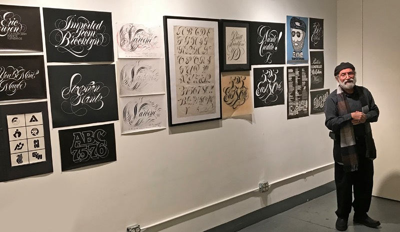Tony DiSpigna nasceu em 1943 na ilha de Ischia, perto das praias de Nápoles. Mas ele passou pouco tempo por lá já que sua família acabou migrando para os Estados Unidos no início dos anos cinqüenta. Foi no Brooklyn que sua familia resolveu se estabelecer porém, mesmo com sua mudança de continente, ele sempre volta para a Itália para ver sua família, seus amigos e clientes, todos os anos. No verão de 2007, ele mostrou seu trabalho em uma exposição em Ischia com seus logos, trabalhos de design gráfico, embalagens, posters e, especialmente, seu trabalho de lettering manual e caligrafia.