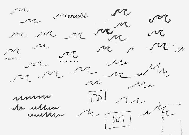 Na região de Fitzrovia, em Londres, existe um novo restaurante contemporâneo grego cujo cardápio é inspirado na vida nas ilhas. Essa restaurante recebeu o nome de Meraki e o trabalho de criação de identidade visual caiu nas mãos do pessoal do estúdio Dutchscot e eles desenvolveram tudo que você pode ver logo abaixo.
