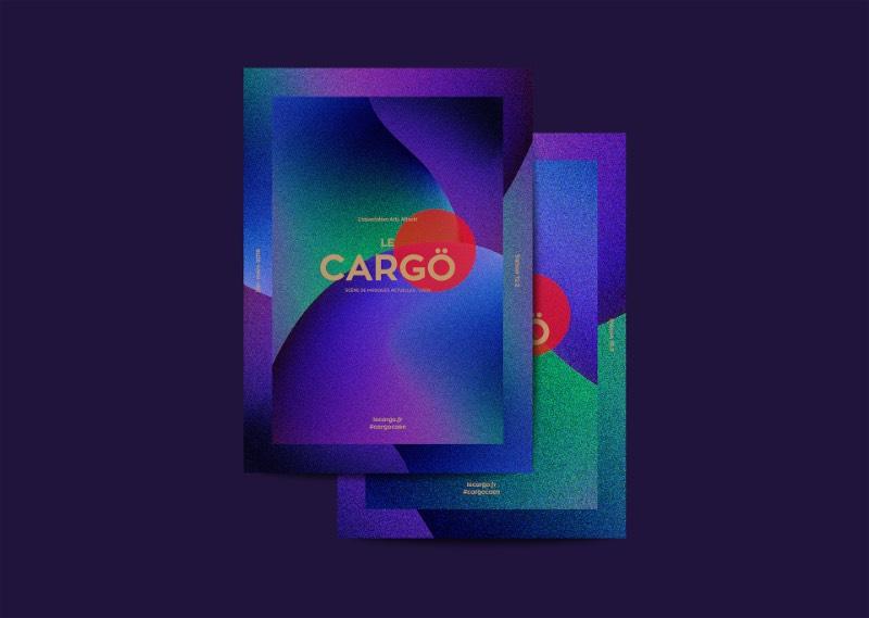 Le Cargo é uma casa de shows que mostra o melhor do cenário musical de Caen, no norte da França. O Murmure foi convidado para trabalhar com o design, a identidade visual e todo o universo dos posters para a temporada de 2017-2018.