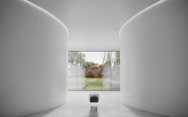 HofmanDujardin é um escritório de arquitetura holandês que iniciou o trabalho de design para um Centro de Cerimônias e Funerais para celebrar a vida daqueles que passarão por lá. A ideia aqui é celebrar a vida dessas pessoas de um jeito especial e, parece que, o resultado final faz isso com louvor.