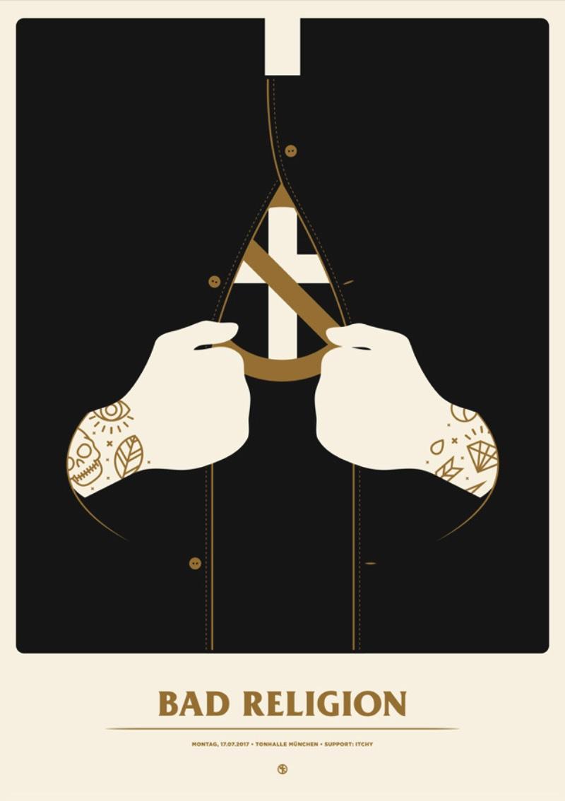 Simon Marchner é um ilustrador e designer gráfico alemão baseado em Munique. Seu trabalho como freelancer é, quase que, totalmente voltado para o mundo da música, de posters de shows a capas de discos, passando por merchandise e tudo mais que possa ser possível.