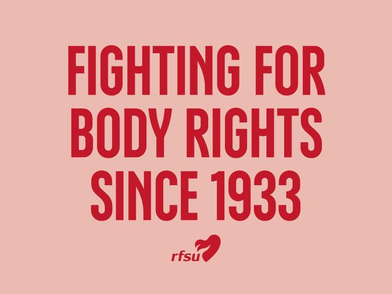 A Associação Sueca de Educação Sexual, conhecida pela sigla RFSU, trabalhou junto com a agência A+X para fazer um update de sua identidade visual e o resultado ficou tão interessante que eu me senti obrigado a publicar algo sobre esse trabalho por aqui.