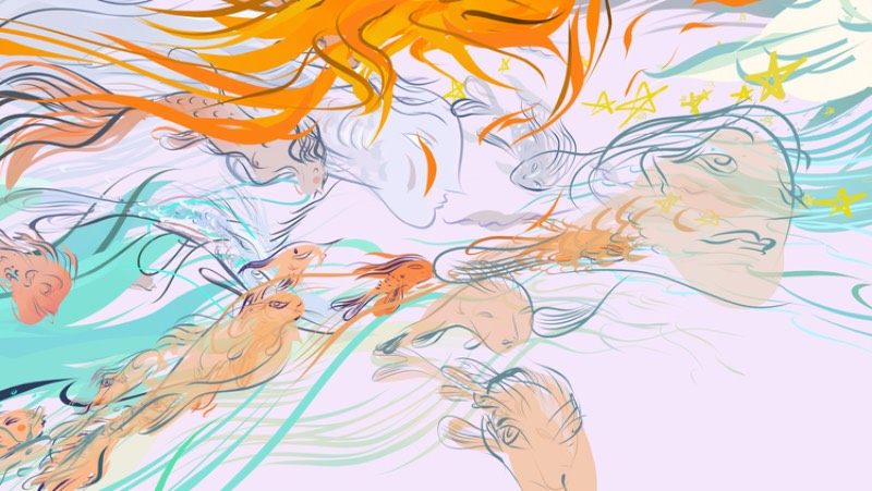 Depois de sair pesquisando um pouco além do portfólio de arte de Wesley Allsbrook, eu não sei direito como descrever o que ela faz. Seu trabalho vai de arte digital a quadrinhos, de animação a instalações e, além de tudo isso, ela ainda faz projetos de realidade virtual. Ai eu acabei me perdendo sobre como descrever seu trabalho.
